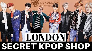 New SECRET Kpop store in London? | Vlog