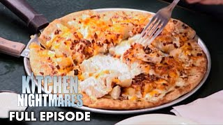 Gordon Ramsay Served Pizza With Ranch Dressing | Kitchen Nightmares