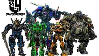 Repeat youtube video Transformers 4 : Age of Extinction - cast robots