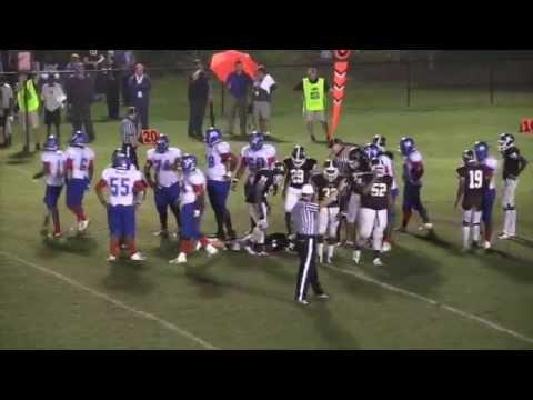 Kosciusko vs Grenada High School in football 9.12.14