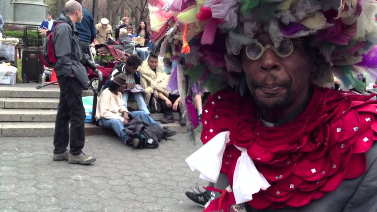 Wendel The Homeless Fashion Designer Gives Shabooty A Shout Out Joeyboots Occupyunionsq Youtube
