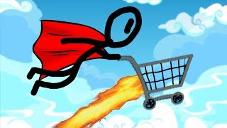 look ma im flying   shopping cart hero 3