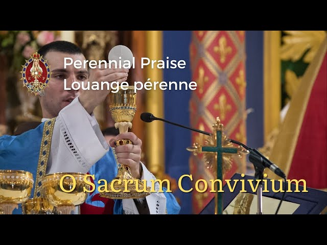 O Sacrum Convivium | Giovanni Pierluigi da Palestrina (Perennial Praise)