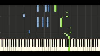 Chopin Mazurka op. 7 no. 1 - Piano Tutorial - Synthesia