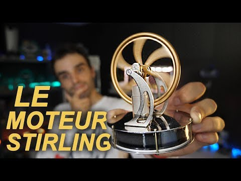 CET OBJET A SAUVÉ DES VIES ! (moteur Stirling)