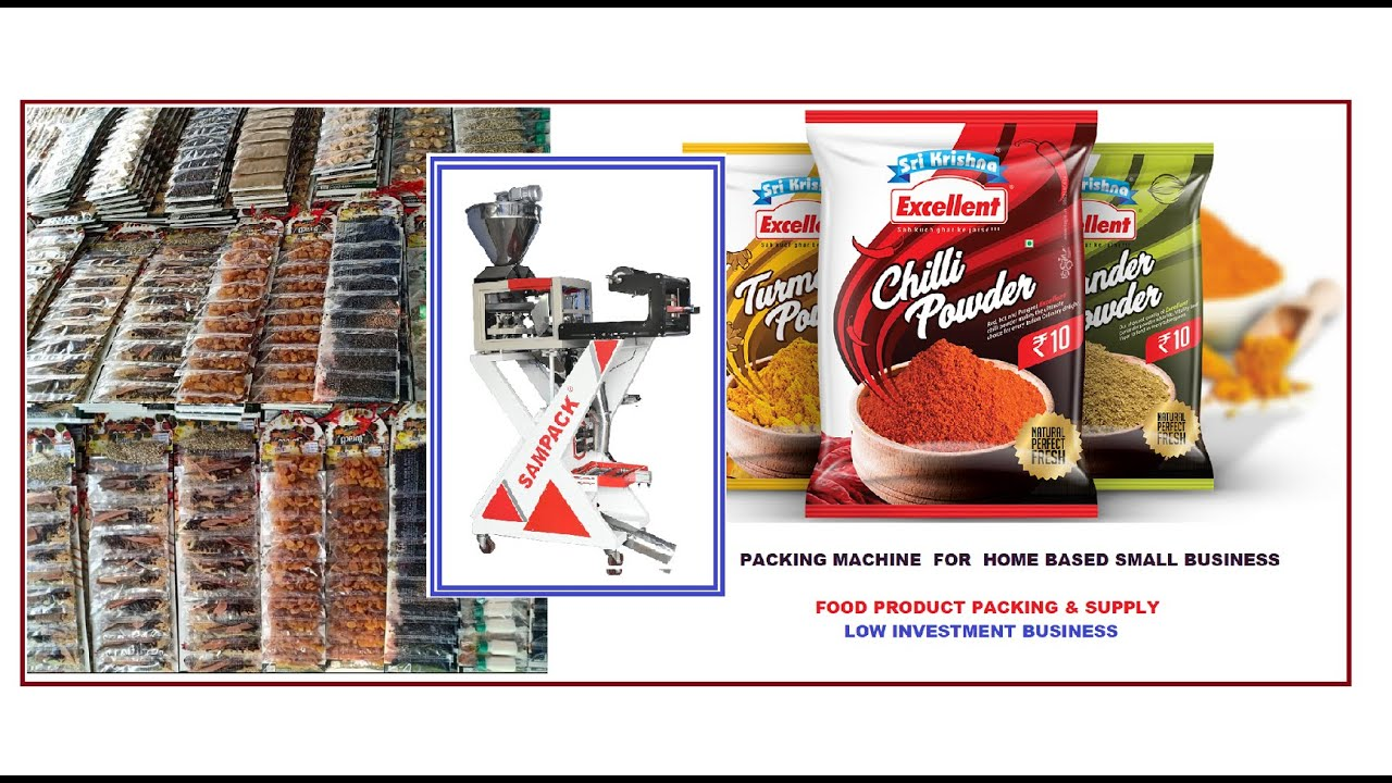 Download Packing machine For Home based small Business Low investment  Food products  packing business