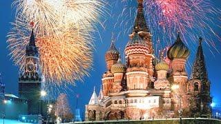 Москва. Праздничный салют в честь Дня Победы 2017