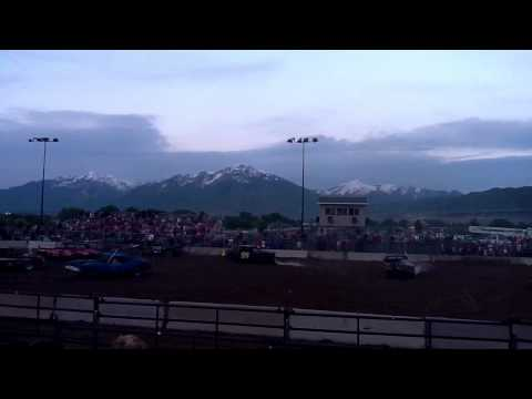Bluffdale demolition derby 2011