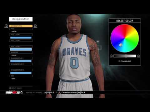 How To Make The Buffalo Braves in NBA 2k16