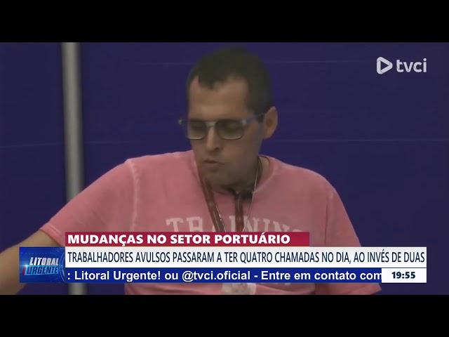 MUDANÇAS NO SETOR PORTUÁRIO