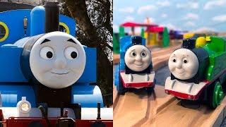 Thomas Toy Trains Real Trains!