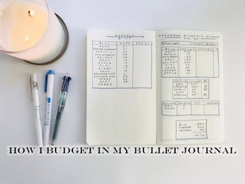 December 2017 Budget With Me || BULLET JOURNAL