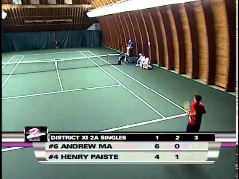 2011 PIAA Tennis District 11 AA Singles Championship