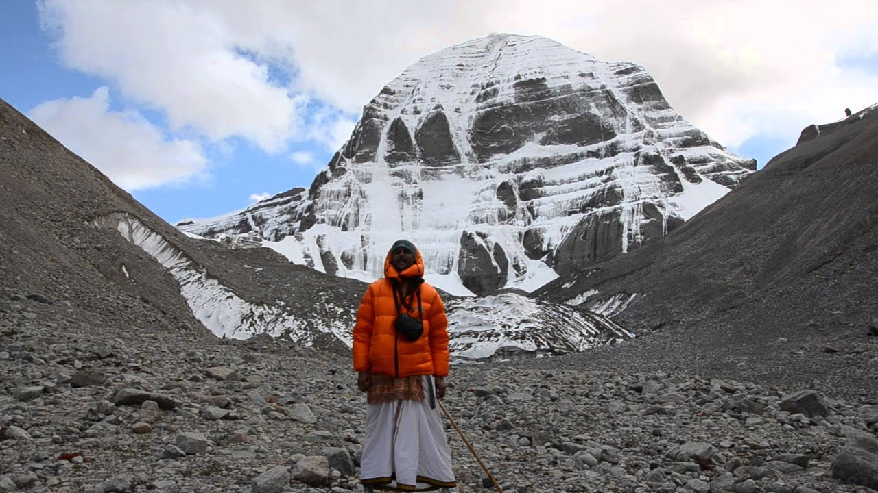 At mt kailash during kailash mansarovar yatra youtube - Kailash mansarovar om ...