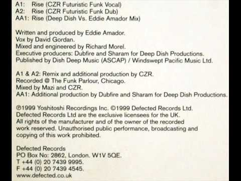 Eddie Amador - Rise (CZR Futuristic Funk Vocal Mix)