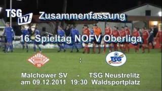 ZF 16. Spieltag Malchower SV 90 - TSG Neustrelitz 09.12.2012