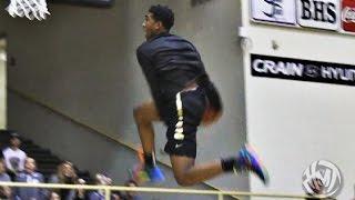 Malik Monk Between The Legs Off The Backboard @ Black & Gold Game!