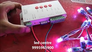 how to connect pixel led part 5 ( led centre kerala 9995965900)