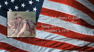 Chronicling the Stories of the American Military -General Tony C. Zinni after being shot, Vietnam.