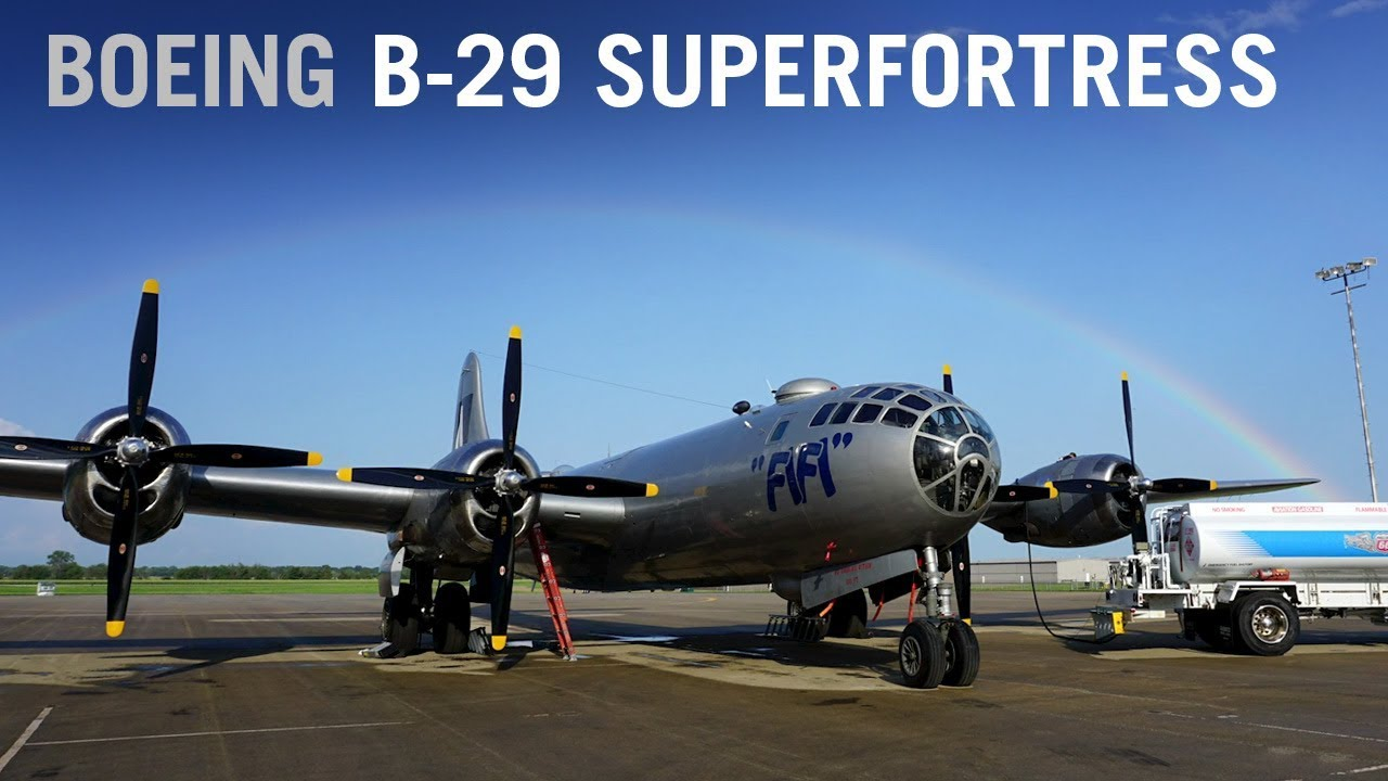What it's like to fly a Boeing B-29 Superfortress – AINtv