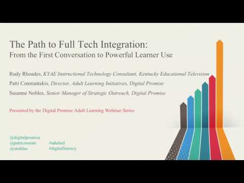 Full Tech Integration and Learner Use in Adult Education