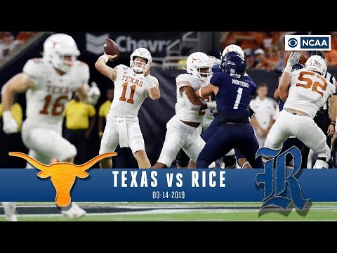 Texas vs Rice Recap: Ehlinger throws 3 TD passes, No. 12 Texas beats Rice 48-13 | CBS Sports