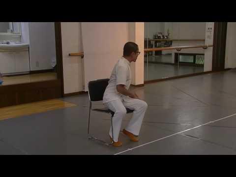 肋間神経痛の体操。座って出来るねじりの動き12/28up!