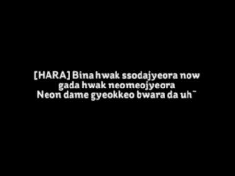 KARA - Damaged Lady Lyrics HD