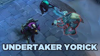 LoL Undertaker Yorick Skin Update - League of Legends