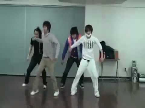 SUPER JUNIOR dance practice