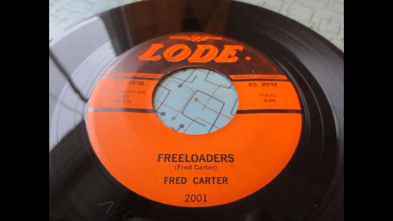 Freeloaders Fred Carter Lode 2001 Ed Cochran 1958 Rockabilly