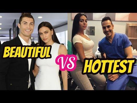 Ronaldo ExGirlfriend Irina Shayk VS Cristiano Ronaldo Current Girfriend Georgina Rodríguez