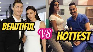 Cristiano Ronaldo Ex-Girlfriend Irina Shayk VS Cristiano Ronaldo New Girfriend Georgina Rodríguez