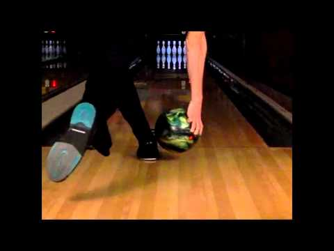 Bowling Release Slow Motion