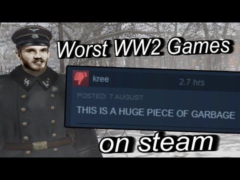 Finding The Worst WW2 Games On Steam