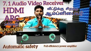 😱  Low-cost AV Receiver amplifier 7.1 channel ARC HDMI 🔥 YouTube Videos