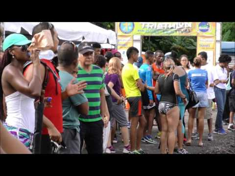 City of San Fernando Inaugural Triathlon along Lady Hailes Ave. - Nov. 06, 2016