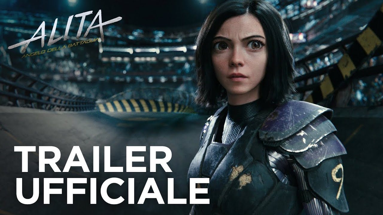 alita angelo della battaglia trailer ufficiale 3 hd