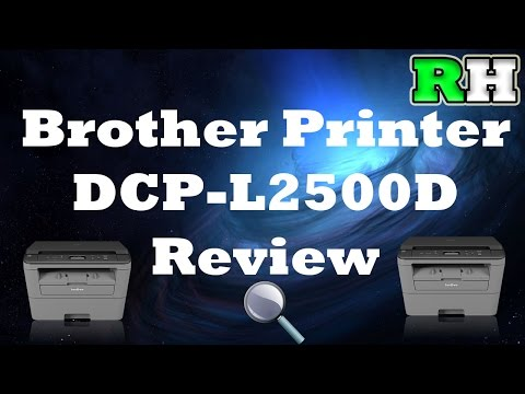 Tech Help: Brother DCP-L2500D 3 in 1 Printer Review/Guide/Unboxing