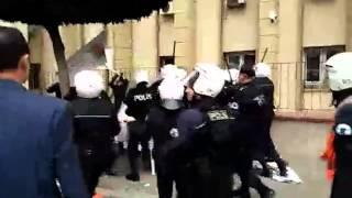SYKP'li Halil İbrahim Biçer için yapılan eyleme polis saldırısı