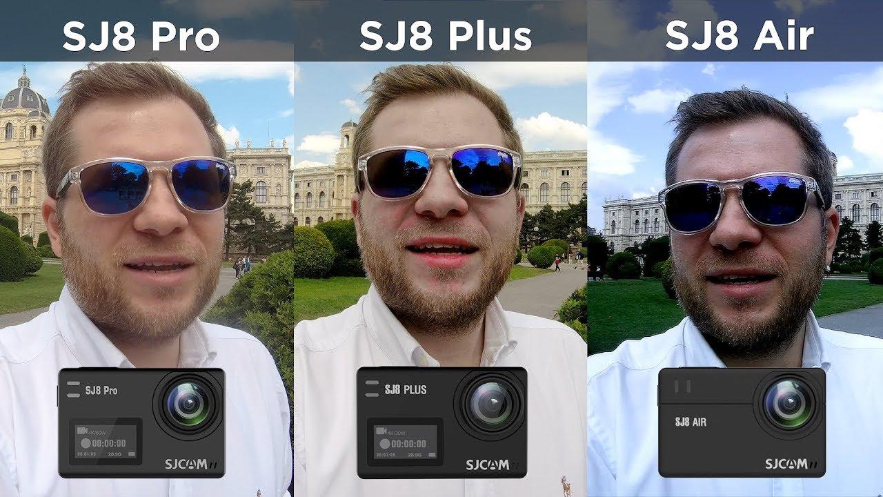 SJCAM SJ8 Pro vs SJ8 Plus vs SJ8 Air - Comparison Review