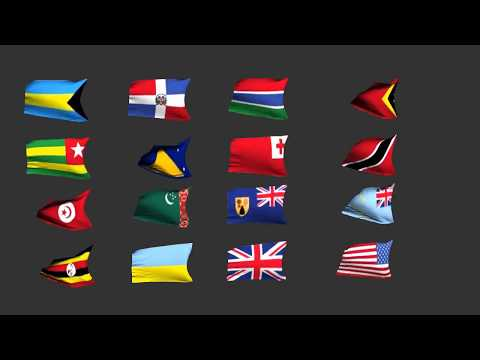 237 Country flags Iclone fantastic character and models pack 005
