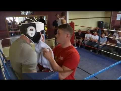 When The Royal Irish 1st Battalion Met Firewalker Olympic Boxing Club, There were some fights.