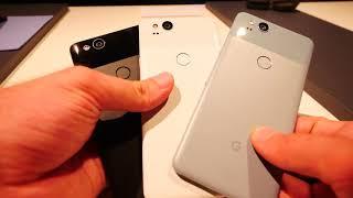 Itt vannak a fura szinek | Google Pixel 2 külső bemutató videó