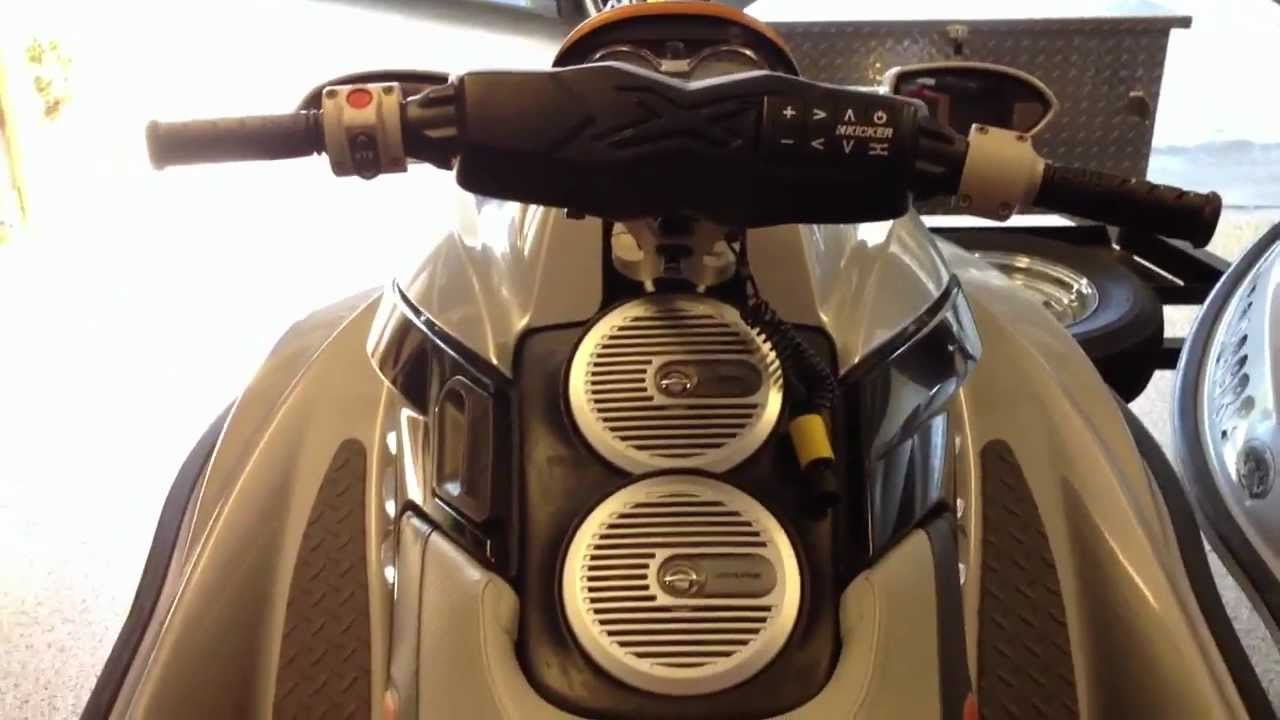 Waverunner Seadoo Rxt Custom Stereo Install By Boost