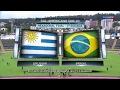 Uruguai 2x1 Brasil - Gols - Sul-AMericano Sub-20 (02/02/2017)