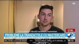 Probleme la tranzacțiile cu Mastercard