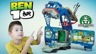 Ben10 Όχημα Αρχηγείο Rustbucket Παιχνίδια Giochi Preziosi για παιδιά .