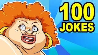 100 YO MAMA SO FAT JOKES - Can You Watch Them All?