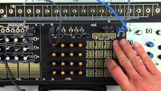 Make Noise René Performance and ProGraM Pages Overview